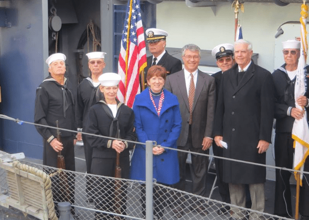 USS Slater Veterans Day