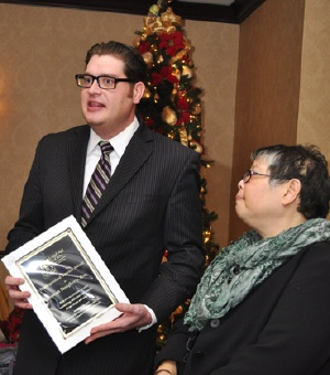 Joseph Dougherty Recognized by LASNNY