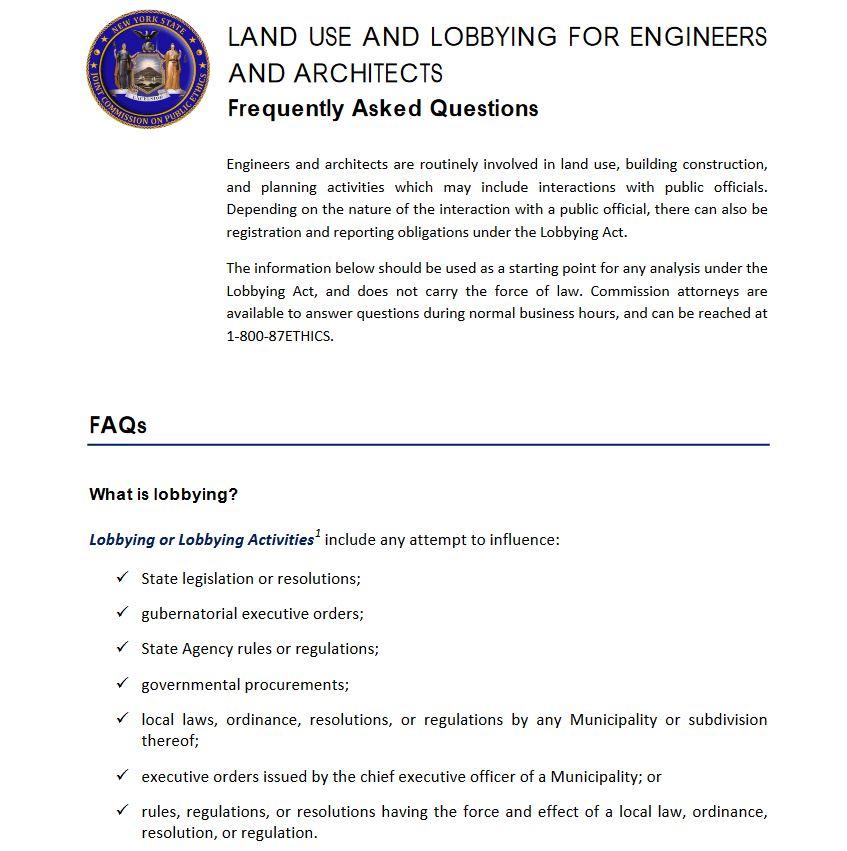 jcope-engineers-faq - Hinman Straub - Full-Service Law Firm
